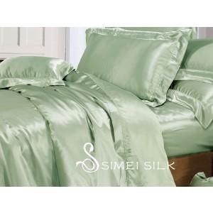 Silkkipussilakana parisänkyyn (king size) vihreä