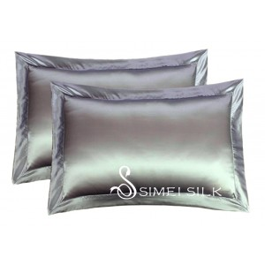 Silkkityynyliina, Queen size (harmaa)