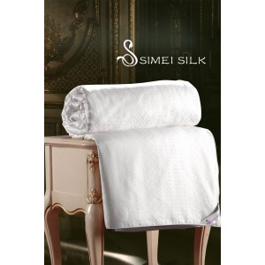 Silk Duvet ( single size, cotton casing )
