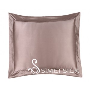 Silk cushion cover bronze (includes cushion )