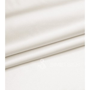 Silk Flat Sheet king size White