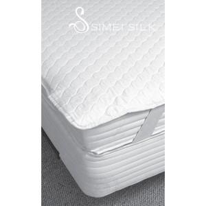 Silk mattress pad (  size:120*200cm )
