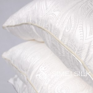 Silk Pillow 48x74cm (queen size)