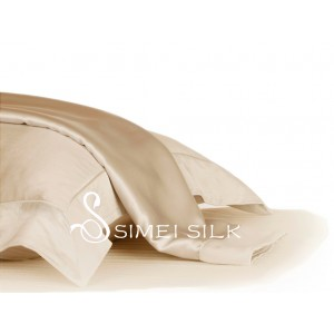 Silk Pillowcase Champagne