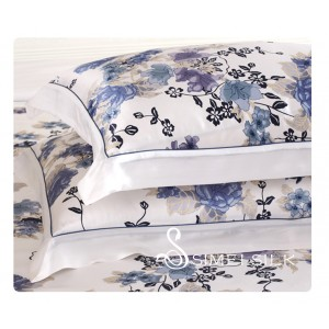 Silk Pillowcase Orchid