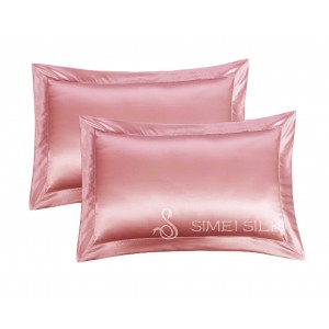 Silk Pillowcase Queen Size rose