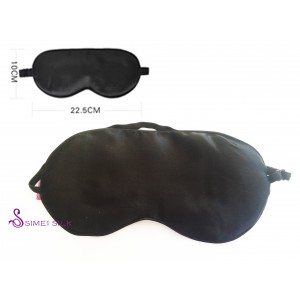 Silk-filled eyemask