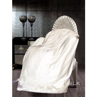 Silk Duvet, single size, Charmeuse silk casing