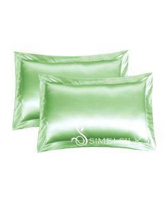 Silkkityynyliina, Queen size (vihreä)