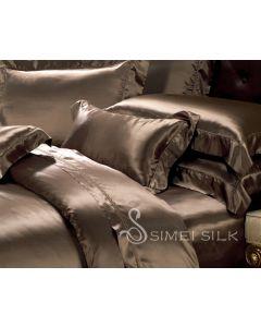 Silkkipussilakana parisänkyyn (king size) suklaa