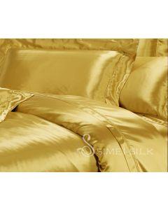 Silkkipussilakana parisänkyyn (king size) kultainen