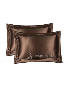 Silkkityynyliina Queen size (suklaa)