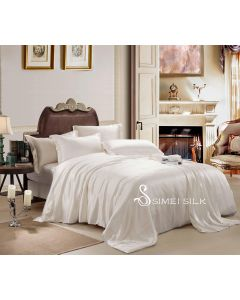 silk bedding sets ( 4pcs, queen size, rose )