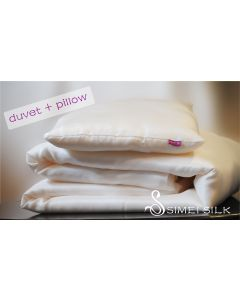 Children Silk duvet & silk pillow set