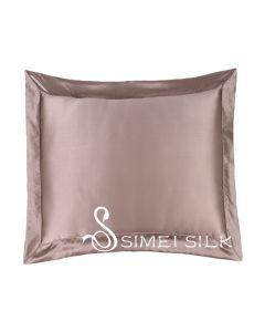 Silk cushion cover bronze (includes cushion )