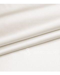 Silkkialuslakana, parisänkyyn (Väri: lumivalkoinen)