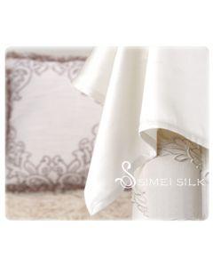 Silk Flat Sheet single size White