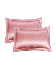 Silk Pillowcase Queen Size rose