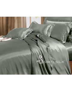 Duvet Cover single size, Silver grey